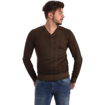 Oblačila Moški Puloverji Wool&co WO0002 Rjav