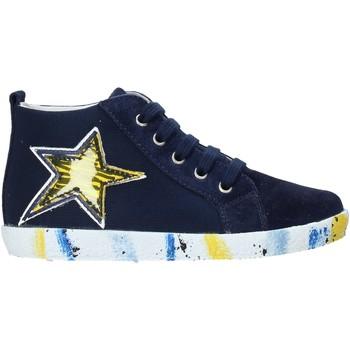 Čevlji  Dečki Visoke superge Falcotto 2013554-01-1C49 Modra
