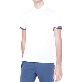 Oblačila Moški Polo majice kratki rokavi Antony Morato MMKS00999 FA100083 Biely