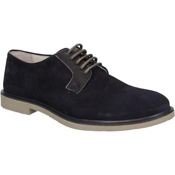 Čevlji  Moški Čevlji Derby Café Noir RB613 Modra