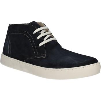 Čevlji  Moški Visoke superge Café Noir XN601 Modra