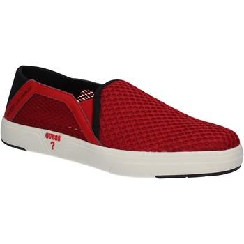 Čevlji  Moški Slips on Guess FMYAL2 FAB12 Rdeča