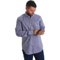 Oblačila Moški Srajce z dolgimi rokavi Gmf 971134/05 Modra