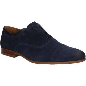 Čevlji  Moški Čevlji Derby Marco Ferretti 140657 Modra