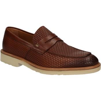 Čevlji  Moški Mokasini Maritan G 160771 Rjav