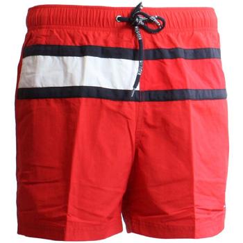 Oblačila Moški Kopalke / Kopalne hlače Tommy Hilfiger UM0UM00236 Rdeča