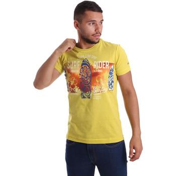 Oblačila Moški Majice s kratkimi rokavi Navigare N631017 Rumena