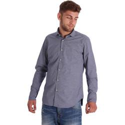 Oblačila Moški Srajce z dolgimi rokavi Gmf 971192/03 Modra