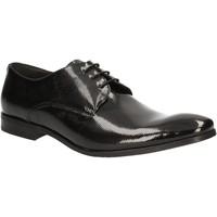 Čevlji  Moški Čevlji Derby Rogers 9235A Črna