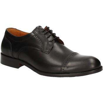 Čevlji  Moški Čevlji Derby Rogers 1602B Črna