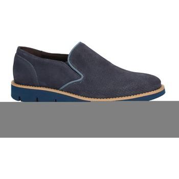 Čevlji  Moški Mokasini Rogers 1702B Modra