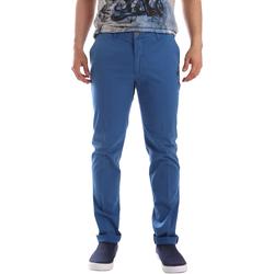 Oblačila Moški Hlače Chino / Carrot Sei3sei PZVI69 7148 Modra