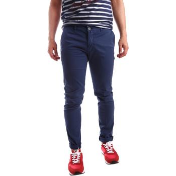 Oblačila Moški Hlače Chino / Carrot Sei3sei PZV21 7183 Modra
