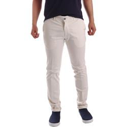 Oblačila Moški Hlače Chino / Carrot Sei3sei PZV21 7148 Biely