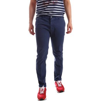 Oblačila Moški Hlače Chino / Carrot Sei3sei PZV20 71341 Modra