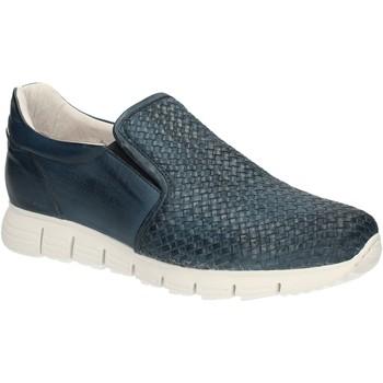 Čevlji  Moški Mokasini Exton 339 Modra