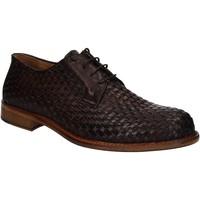 Čevlji  Moški Čevlji Derby Exton 9910 Rjav