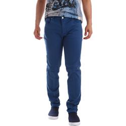 Oblačila Moški Hlače s 5 žepi Sei3sei PZV17 71339 Modra