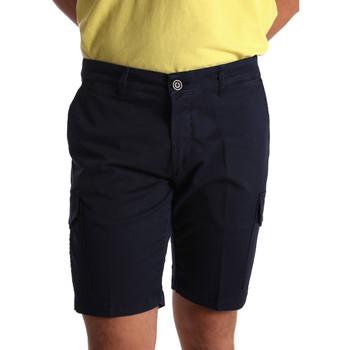 Oblačila Moški Kratke hlače & Bermuda Sei3sei PZV130 7148 Modra