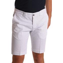 Oblačila Moški Kratke hlače & Bermuda Sei3sei PZV132 71336 Biely
