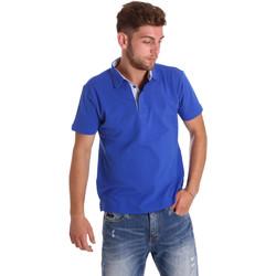 Oblačila Moški Polo majice kratki rokavi Bradano 000116 Modra
