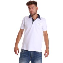 Oblačila Moški Polo majice kratki rokavi Bradano 000115 Biely