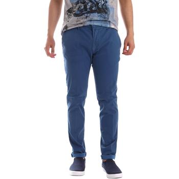 Oblačila Moški Hlače Chino / Carrot Sei3sei PZV156 71341 Modra