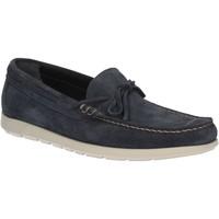 Čevlji  Moški Mokasini Maritan G 460363 Modra