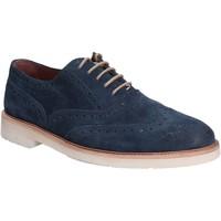 Čevlji  Moški Čevlji Derby Maritan G 140358 Modra