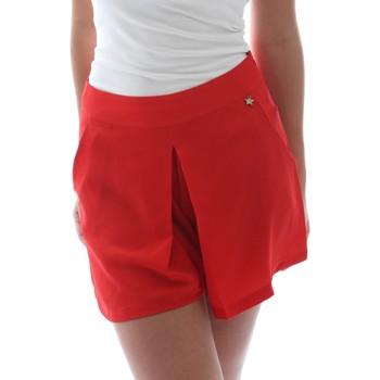 Oblačila Ženske Kratke hlače & Bermuda Fornarina BER1L17C98176 Rdeča