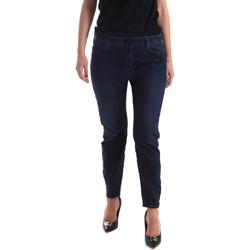 Oblačila Ženske Kavbojke slim Gas 365759 Modra