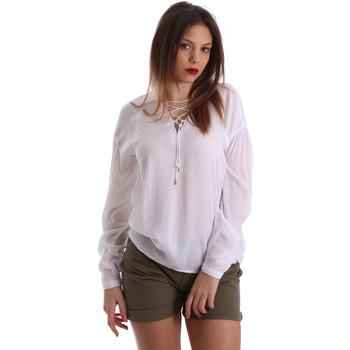 Oblačila Ženske Topi & Bluze Gaudi 73BD47209 Biely