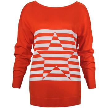 Oblačila Ženske Puloverji Denny Rose 73DR15013 Oranžna