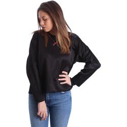 Oblačila Ženske Puloverji Ea7 Emporio Armani 6XTM68 TN11Z Črna