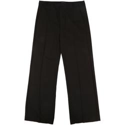 Oblačila Ženske Elegantne hlače Fornarina BIF1I68C96600 Črna