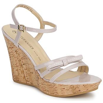 Čevlji  Ženske Sandali & Odprti čevlji Peter Kaiser RUTH Bež