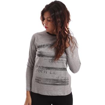 Oblačila Ženske Puloverji Key Up SGV9 0001 Siva