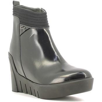 Čevlji  Ženske Gležnjarji Alberto Guardiani SD57522B Črna