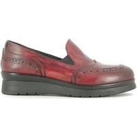 Čevlji  Ženske Mokasini Rogers 1522 Rdeča