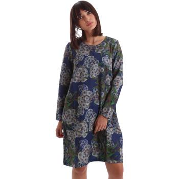 Oblačila Ženske Kratke obleke Gazel AB.AB.ML.0026 Modra