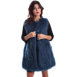 Oblačila Ženske Plašči Gazel AB.CS.GL.0001 Modra