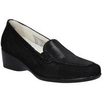Čevlji  Ženske Mokasini Melluso R30506F Črna