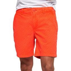 Oblačila Moški Kopalke / Kopalne hlače Superdry M71012KT Oranžna