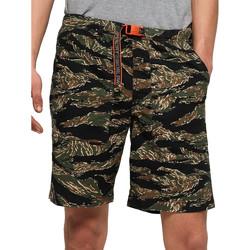 Oblačila Moški Kopalke / Kopalne hlače Superdry M71012TT Zelena