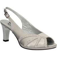 Čevlji  Ženske Sandali & Odprti čevlji Grace Shoes E7793 Siva