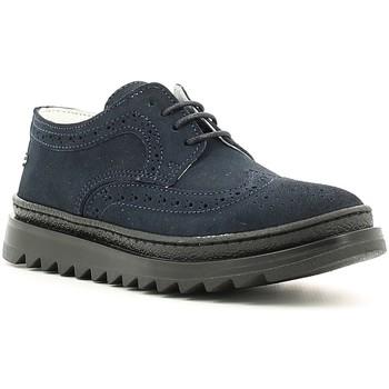 Čevlji  Dečki Čevlji Derby Melania ME6073F6I.D Modra