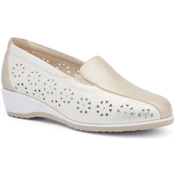 Čevlji  Ženske Mokasini Susimoda 4412 Zlato