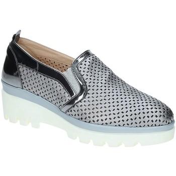 Čevlji  Ženske Mokasini Grace Shoes J306 Siva