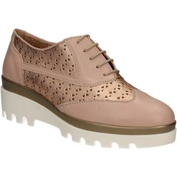 Čevlji  Ženske Čevlji Richelieu Grace Shoes J303 Roza