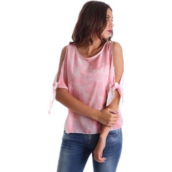 Oblačila Ženske Topi & Bluze Fornarina BE17T532CA11C5 Roza